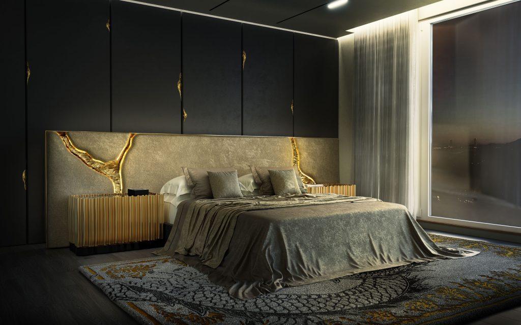 Creative Modern Ideas For Your Luxury Master Bedroom  luxury master bedroom Creative Modern Ideas For Your Luxury Master Bedroom bedroom 13 boca do lobo 1024x640