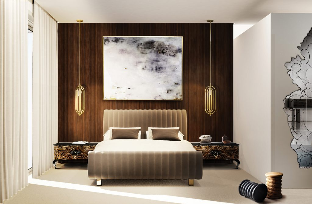 Creative Modern Ideas For Your Luxury Master Bedroom  luxury master bedroom Creative Modern Ideas For Your Luxury Master Bedroom bedroom 5 boca do lobo 1024x672