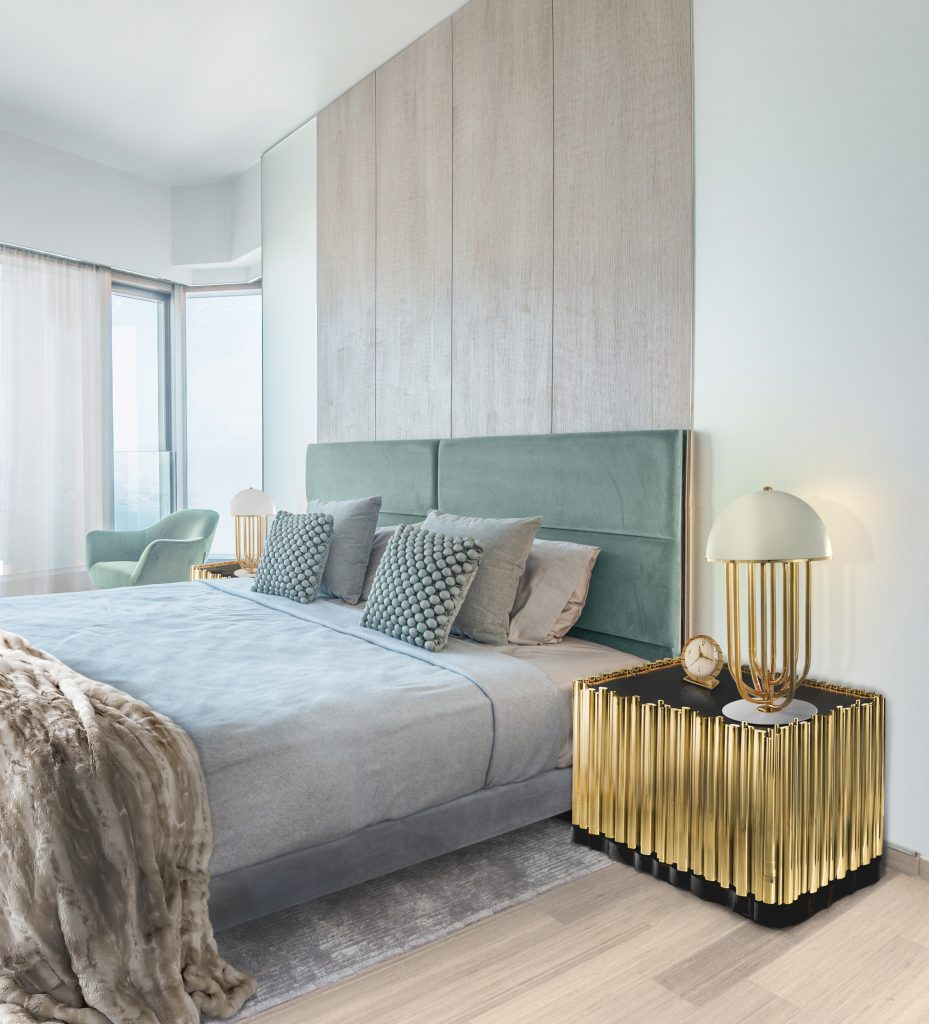Creative Modern Ideas For Your Luxury Master Bedroom  luxury master bedroom Creative Modern Ideas For Your Luxury Master Bedroom bedroom 7 boca do lobo 929x1024