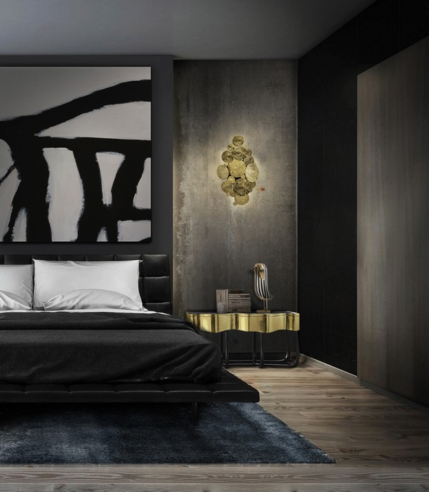 Master Bedroom Nightstand Collection By Boca do Lobo's master bedroom Master Bedroom Nightstand Collection By Boca do Lobo's luxury details and gray inspirations 12
