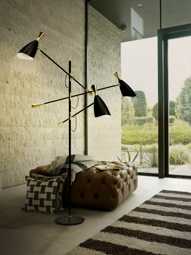 Floor Lamps for a Good-Mood Master Bedroom Decor