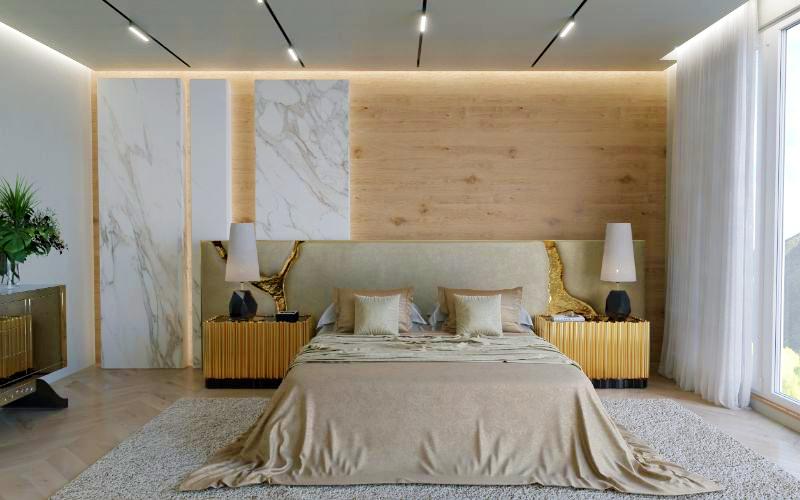 Modern Headboard By Boca Do Lobo - A Luxury Furniture