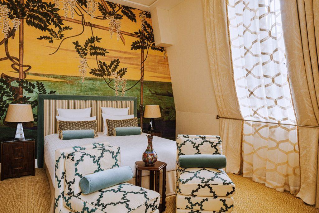 The New Laura Gonzalez-Designed Saint James Hotel Is a Parisian Oasis