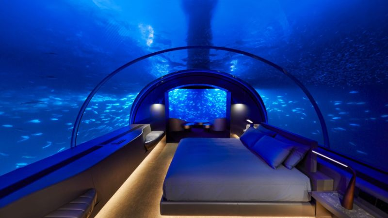 The Ultimate Best New Experience In Maldives - Underwater Luxury Bedroom luxury bedroom The Ultimate Best New Experience In Maldives – Underwater Luxury Bedroom The Ultimate Best New Experience In Maldives Underwater Luxury Bedroom 12