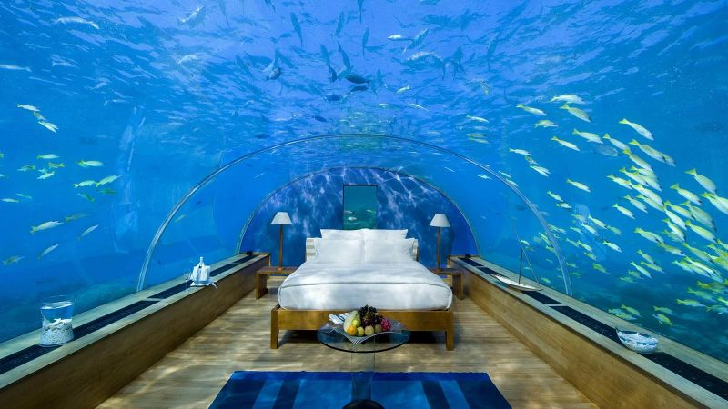 The Ultimate Best New Experience In Maldives - Underwater Luxury Bedroom luxury bedroom The Ultimate Best New Experience In Maldives – Underwater Luxury Bedroom The Ultimate Best New Experience In Maldives Underwater Luxury Bedroom 13