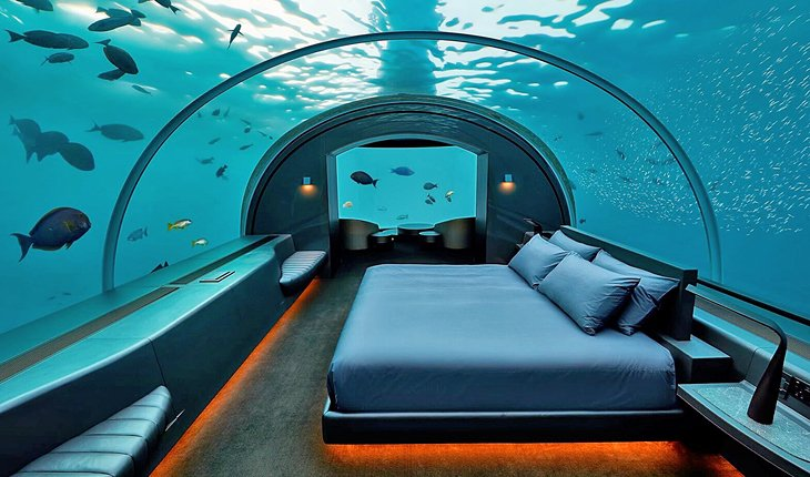 The Ultimate Best New Experience In Maldives - Underwater Luxury Bedroom luxury bedroom The Ultimate Best New Experience In Maldives – Underwater Luxury Bedroom The Ultimate Best New Experience In Maldives Underwater Luxury Bedroom 2