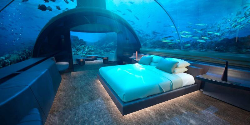 The Ultimate Best New Experience In Maldives - Underwater Luxury Bedroom luxury bedroom The Ultimate Best New Experience In Maldives – Underwater Luxury Bedroom The Ultimate Best New Experience In Maldives Underwater Luxury Bedroom 4 1